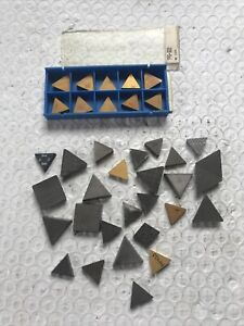 Machinist LOT of Carbide Indexable Inserts Machine Tool Drilling Lathe