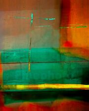 1991Original MEDITATION MODERN ABSTRACT Signed Photograph ~ KELLY WILLIAM WRIGHT
