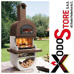 Barbecue a legna e carbonella con forno PALAZZETTI DIVA - invia mail per sconto