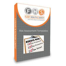 Evaluación de riesgos PK X 10 Plantillas Editables en un memory stick de USB,