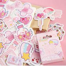 46PCS Box Cute Stickers Kawaii Stationery DIY Scrapbooking Diary Label Stickers