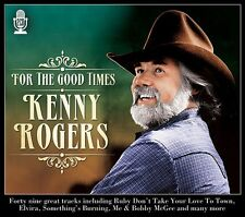 2 CD BOX KENNY ROGERS FOR THE GOOD TIMES RUBY DON'T TAKE YOUR LOVE TO TOWN ETC