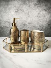 D67 Golden Modern Style Ceramic Bathroom Product Wedding Present Set 5 Pcs A
