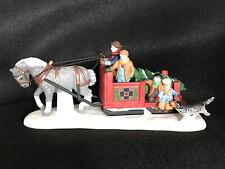 Dept 56 Heritage Village Accessories Horse Sleigh Tree