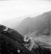 AUTRICHE c. 1953 - Route Schober Gruppe Grosglockner - Négatif 6 x 6 - Aut 33