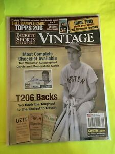 Beckett Sports Collectibles Vintage Ted Williams September 2002