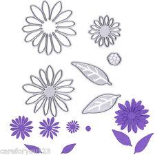 6Pcs Metal Flowers Cutting Dies Stencils For DIY Scrapbooking Paper Card Decor
