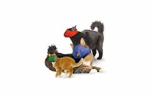 Four Flags Quick Adjustable Nylon Muzzle for Cats Large blue over 11lbs