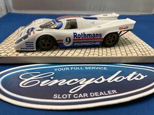 NSR Porsche 917k Rothman's Mint 1/32 Slot Car