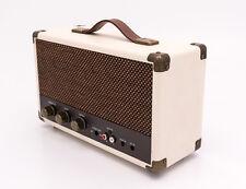 Gpo westwood portable style vintage bluetooth haut-parleur sans fil-crème/marron clair