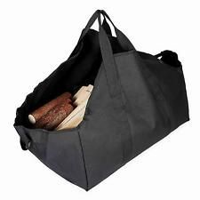 Firewood Carrier Log Tote Heavy Duty Bag for Carrying Wood Dustproof Collapsible