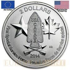 1/2 oz $2 Canada Silver Devil's Brigade Coin Random Year (With Capsule)