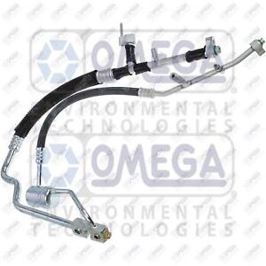 Omega A/C Manifold Hose Fits: Ford Expedition 5.4L V8 (See Chart)