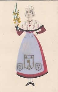 A 52  FRENCH COSTUME - ANJOU