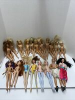 lot of 19 nude Mattel Barbie And Hasbro Dolls.