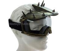Spike Motorcycle Bike Skate Ski Half Face Goggle mask Halloween Costume Party