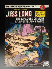Jess Long Piroton Tillieux Les masques de mort EO TBE
