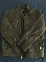 LUCKY BRAND VINTAGE BONNEVILLE RACER MENS LEATHER JACKET 7MD3455 XL NWT NEW $499