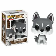 Funko Pop! Vinyl * Siberian Husky * #1 Dog Puppy Figure Pets New in Box POP