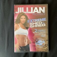 Jillian Michaels Extreme Shed & Shred (Dvd, 2011) *New*