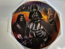 Star Wars Hamilton Collection Heroes and Villains Darth Vader Plate Ex+