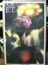 Vintage E.T. the extra-terrestial 1982 movie poster 13327