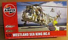 Airfix Westland Mar Rey HC.4 helicóptero 1:72 escala Navy Commando escuadrón de aire