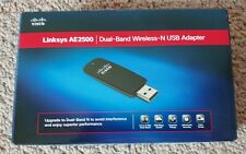 LINKSYS AE2500 DUAL-BAND WIRELESS-N USB ADAPTER OPEN BOX UNUSED