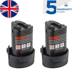2xfor Makita 10.8v Battery 3.5Ah BL1013 LCT203W BL1013 BL1014 194550-6 194551-4