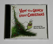 How the Grinch Stole Christmas by Thurl Ravenscroft/Boris Karloff (CD, 1995)