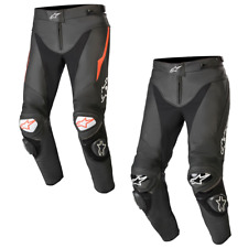 2020 Alpinestars Track V2 Leather Street Performance Motorcycle Riding Pants
