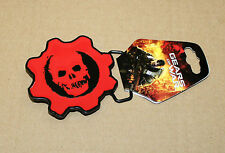 Gears of War rare Metal Belt Buckle Epic Games 2010