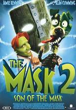 SON OF THE MASK Movie POSTER 27x40 Jamie Kennedy Alan Cumming Traylor Howard