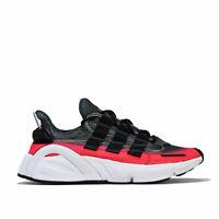 Mens adidas Originals Lxcon Trainers In Carbon / Black / White