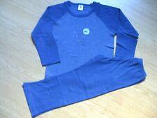 PETIT BATEAU - Pyjama coton bleu T.5 ans ( 108 cm) - TBE