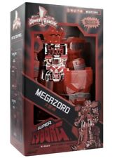 SUPER7 SDCC MIGHTY MORPHIN POWER RANGERS SUPER CYBORG - MEGAZORD RED CLEAR