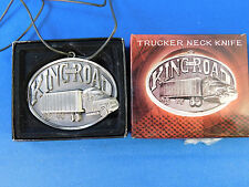 King of the Road Trucker Neck Knife NIB