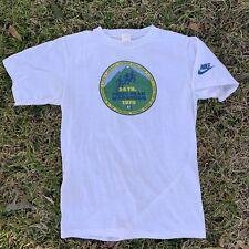 832d2ebe 1979 Vintage Nike Marathon Pikes Peak Tee T-Shirt size Large Running  Pinwheel