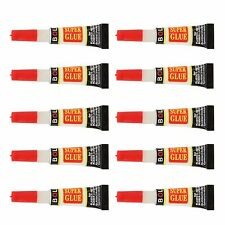 Lot of 120x Individual Tube Cyanoacrylate Adhesive General Purpose Super Glue