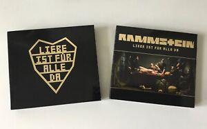 Liebe Ist für Alle Da - Rammstein - 2 CDs - Zustand sehr gut