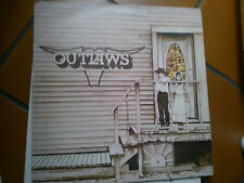 LP THE OUTLAWS SAME RIESSUE 1980 ITALY ARISTA COVER EX VINILE EX++