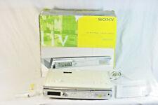 Sony Icf-Cd543Liv Under Cabinet Mega Bass Cd/Weather/Clock Radio w/ Hardware
