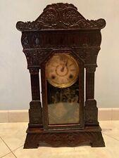 orologio a pendolo da parete antico, classico, funzionante