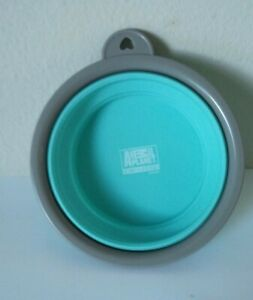 Animal Planet Travel Pet Portable Bowl Collapsible Food & Water Silicone Bowl