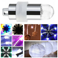 Mini Balloon LED Light Glowing Lamp Multicolour Waterproof for Party Decor 10pcs