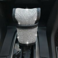 Auto Shift Gear Cover,Luster Crystal Car Knob Gear Stick Protector Diamond Z5Q2