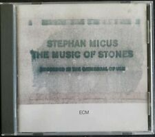 The Music of Stones Stephan Micus (CD 1989 ECM) Rare West German Import VGC