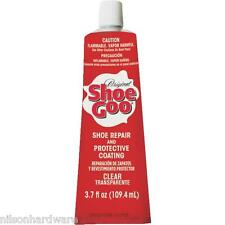 Shoe Goo Clear Boots Boot Glue 3.7 Oz & Gloves Multi-Purpose Adhesive 110011