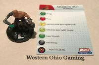 Heroclix Absorbing Man #019 USED Mutations and Monsters Single Figure