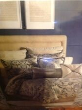 Croscill Auden Comforter Set KING 4 pc  Blue Beige